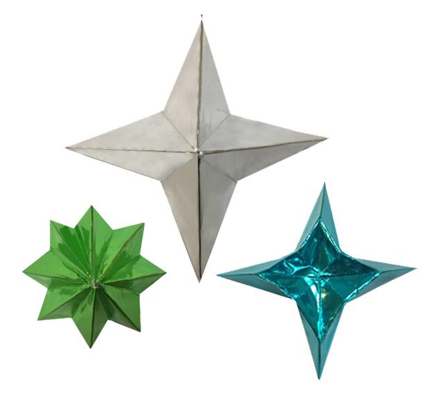 Christmas Origami.Origami Christmas