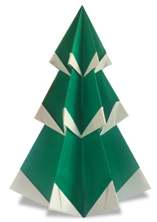 Origami Christmas.Origami Christmas